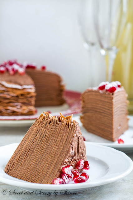 chocolate mousse crepe cake recipe