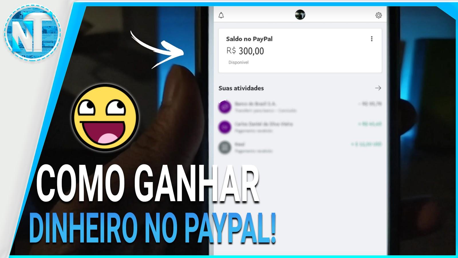 Como Ganhar dinheiro no Paypal TODO DIA - 2020