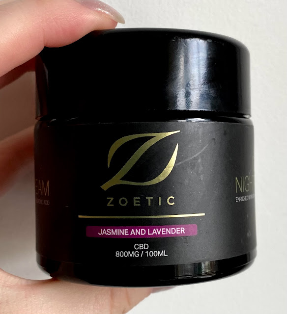 Zoetic CBD Jasmine and Lavender cream