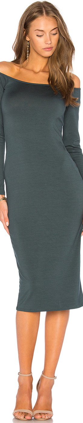 Rachel Pally LONG SLEEVE JAGGER DRESS