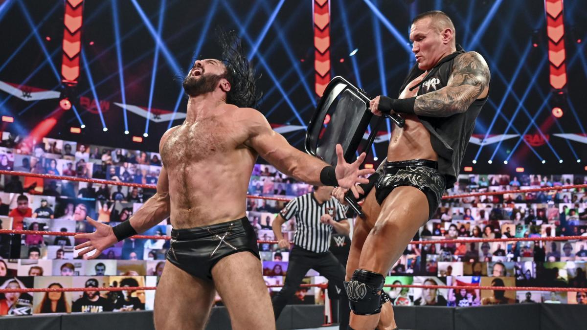 Randy Orton é favorito a vencer Drew McIntyre no WWE Clash of Champions