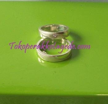 cincin kawin couple perak