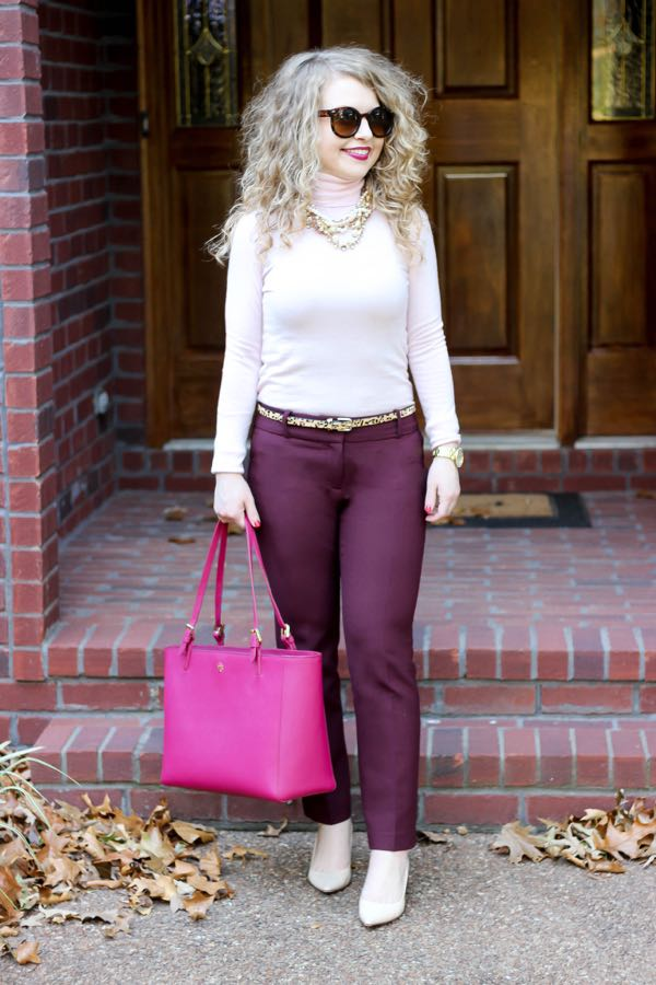 Ann Taylor Ankle Pants, #WomenWhoWork, Ivanka Trump