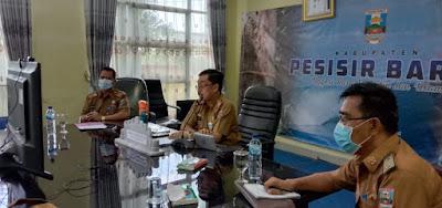 Pjs. Bupati Pesisir Barat Menjadi Narasumber  pada Acara  Government 4.0 Week