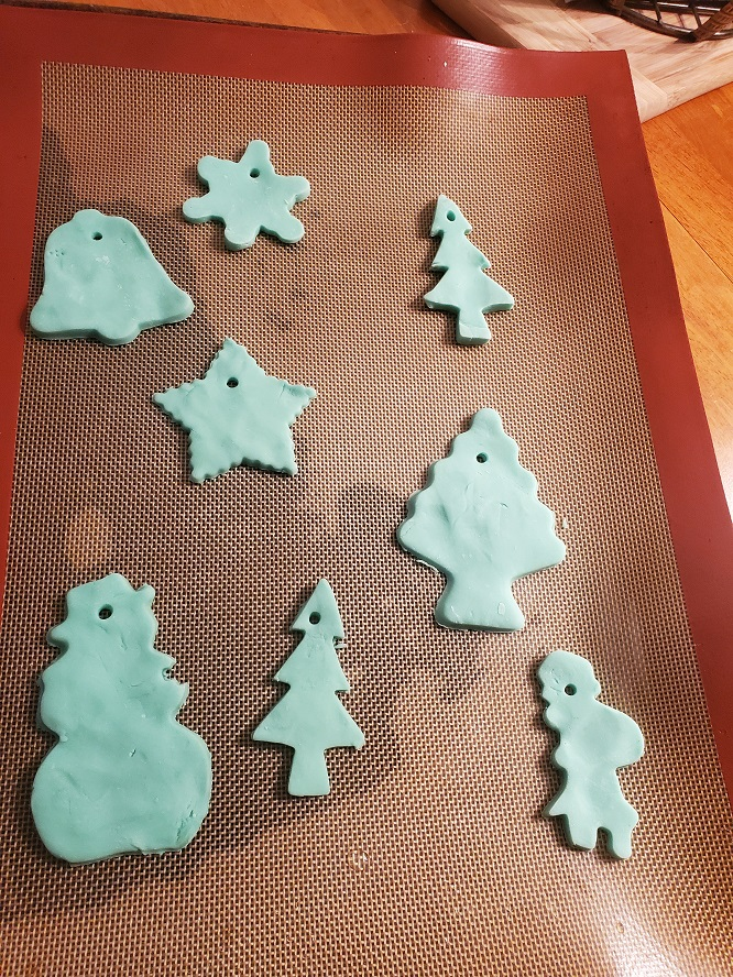 homemade clay for ornaments