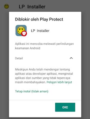 cara instal lucky patcher yang diblokir