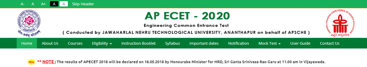 AP ecet Rank card 2021