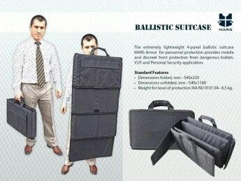 ballistic mat shield