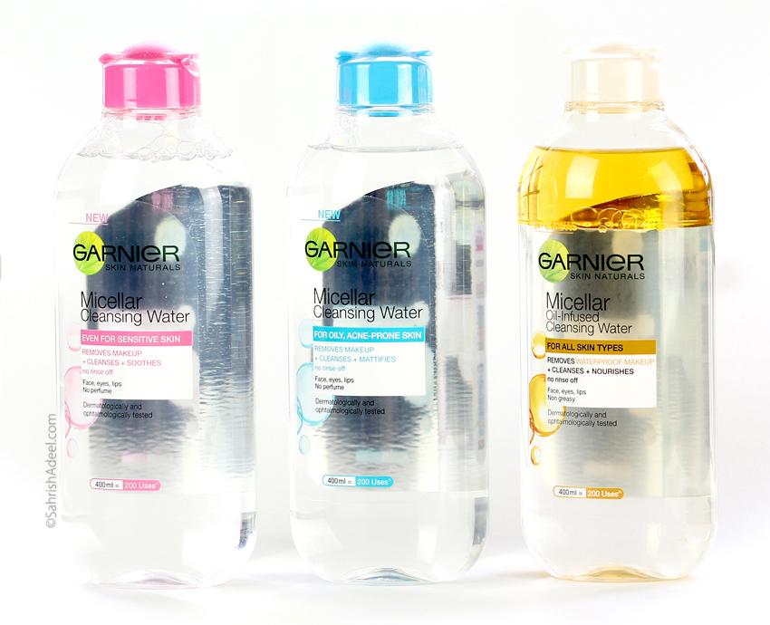 Garnier Micellar Cleansing Waters (All Three) - Reviews