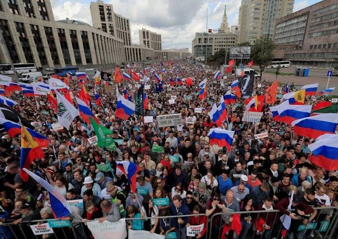 """""""Bizonyítékokat"""" talált az orosz felsőház moszkvai zavargások előkészítésére"""