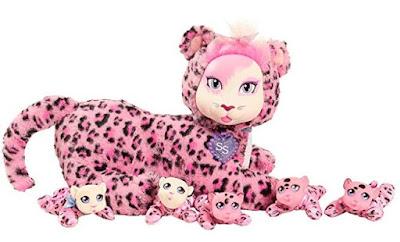 Розовый леопард Бьянка