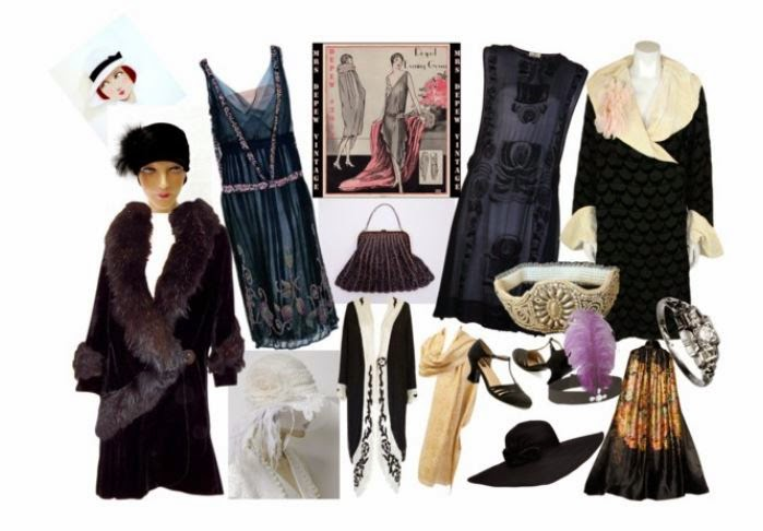 1930s fashion and accessories