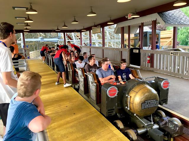 steel vengeance train ride review cedar point 2018