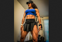 High muscle mass female