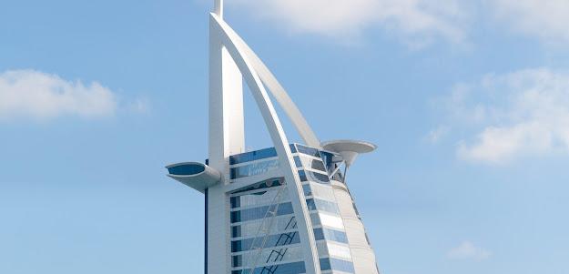 Burj al arab helipad and skyview resturant