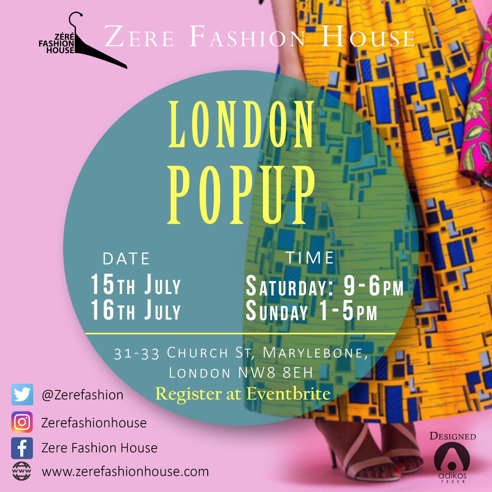 pop up in london