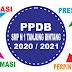 PENGUMUMAN PPDB SMP N 1 TANJUNG BINTANG TAHUN AJARAN 2020/2021