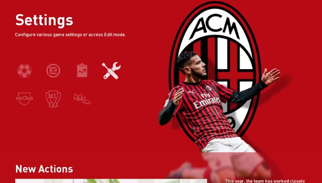 Milan Addon For PES 2020 Sider by barricade