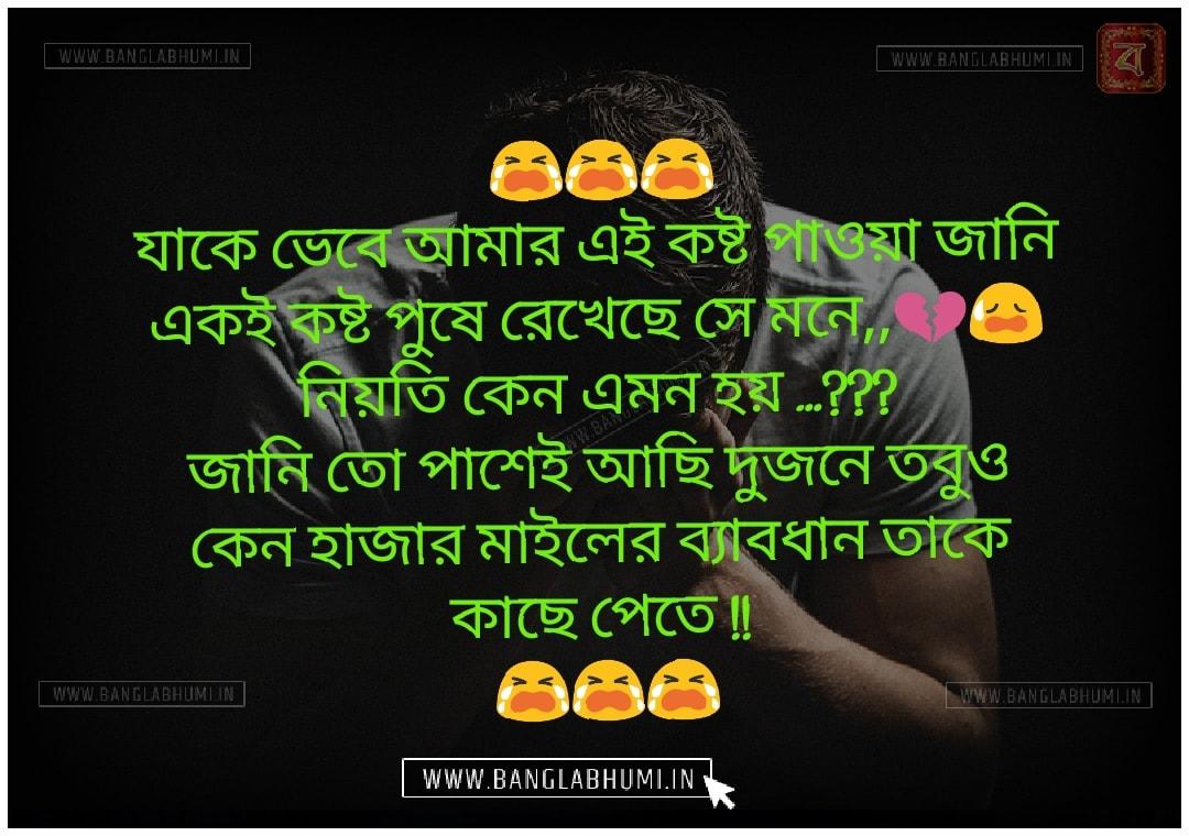 Whatsapp Bangla Sad Love Shayari Status Free Download and share