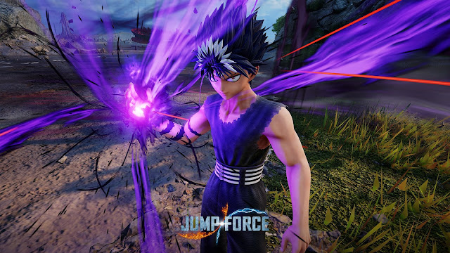 Jump Force Hadirkan Hiei dari Seri Yu Yu Hakusho pada DLC Musim Ini!
