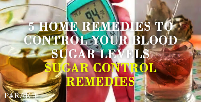 5 Home Remedies To Control Your Blood Sugar Levels - Sugar Control Remedies