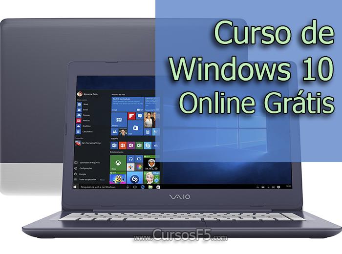 Curso de Windows 10 Online Grátis
