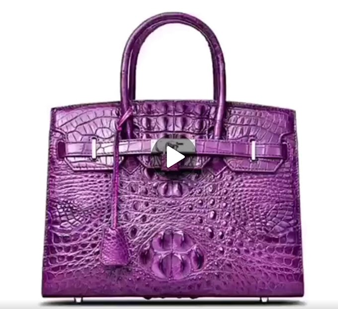 Hermes Bag: 100% leather click for video preview and price