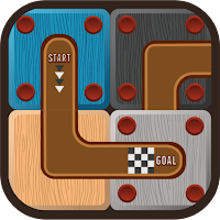 Sliding Block Puzzle for Rolling Ball