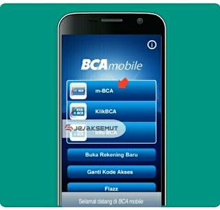 Buka BCA Mobile