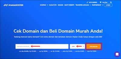 Membeli dan memasang Custom Domain Niagahoster