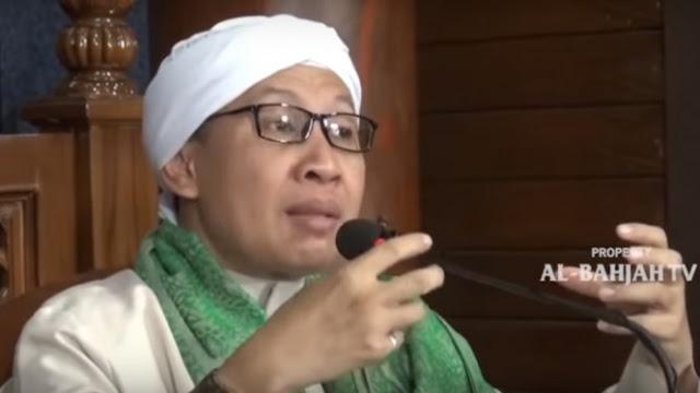 Sukmawati Hina Nabi Muhammad, Buya Yahya:  Hatinya yang Enggak Bener