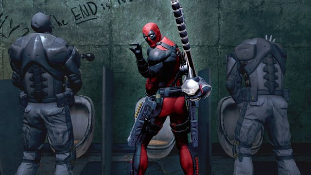 Deadpool هي لعبة فيديو مغامرات ضد الأبطال تعتمد على شخصية Marvel Comics التي تحمل الاسم نفسه. تم تطوير اللعبة بواسطة High Moon Studios وتم نشرها بواسطة Activision for Microsoft Windows (رقمي فقط) و PlayStation 3 و Xbox 360 الكاتب الهزلي Deadpool دانييل واي أنشأ مؤامرة اللعبة ، وعبر نولان نورث عن الشخصية. تلقت اللعبة مراجعات متباينة ، حيث تم الإشادة بها لعناصرها الفكاهية والمؤامرة بينما تعرضت للنقد بسبب أوجه القصور في طريقة اللعب. تم إلغاء إدراج Deadpool ، إلى جانب معظم الألعاب الأخرى التي نشرتها Activision التي استخدمت ترخيص Marvel ، وإزالتها من جميع واجهات المتاجر الرقمية في 1 يناير 2016. اعتبارًا من 15 يوليو 2016 ، تم توفير اللعبة للشراء مرة أخرى على Steam بالإضافة إلى المحتوى القابل للتنزيل من PlayStation Store ولكن فقط في أسواق الولايات المتحدة. تم إعادة إصدار اللعبة في 18 نوفمبر 2015 على PlayStation 4 و Xbox One لتتزامن مع فيلم 2016 الذي يحمل نفس الاسم. في 16 نوفمبر 2017 ، تمت إزالة اللعبة مرة أخرى من واجهات المتاجر الرقمية بسبب مشاكل الترخيص.