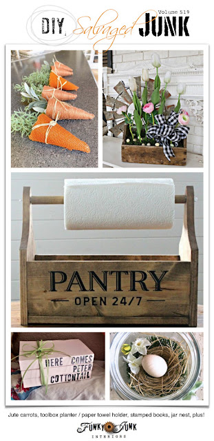 diy, salvaged, junk, decorating, crafts, projects, handmade, junking, blog link party
