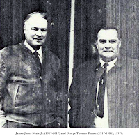 Image of James Jones Neale Jr. (1917-2017) and George Thomas Turner (1917-1986), c1970.