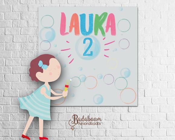 bolha de sabão, bolha de sabão menina, arte digital, kit digital, painel, festa infantil, arte personalizada, painel bolha de sabão