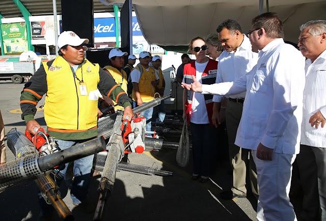 Comienza mega operativo de descacharrización en Mérida