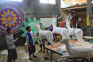 Dekorasi styrofoam ARTINDO KREASI CIPTA