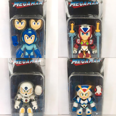 San Diego Comic-Con 2017 Exclusive Mega Man Action Vinyls Variant Figures by The Loyal Subjects