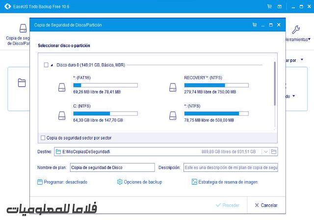 EaseUS Todo Backup  11.5
