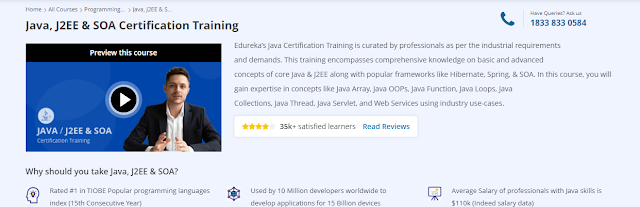 Programming courses , Edureka course sale, Development courses