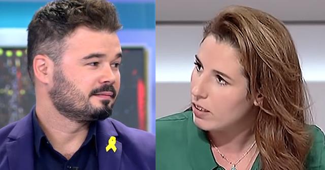 Respuesta viral de Gabriel Rufián a Rocío de Meer (Vox) tras difundir un vídeo con un discurso xenófobo