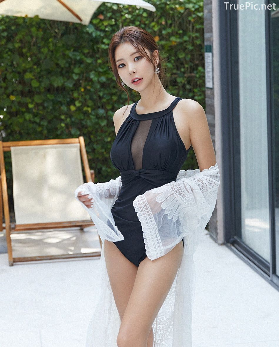 Korean model and fashion - Park Da Hyun - Chloesee Swimsuit Set - Picture 1