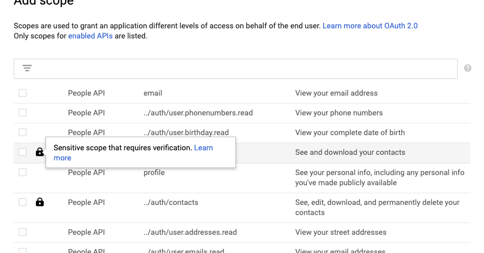 Get smart about preparing your app for OAuth verification