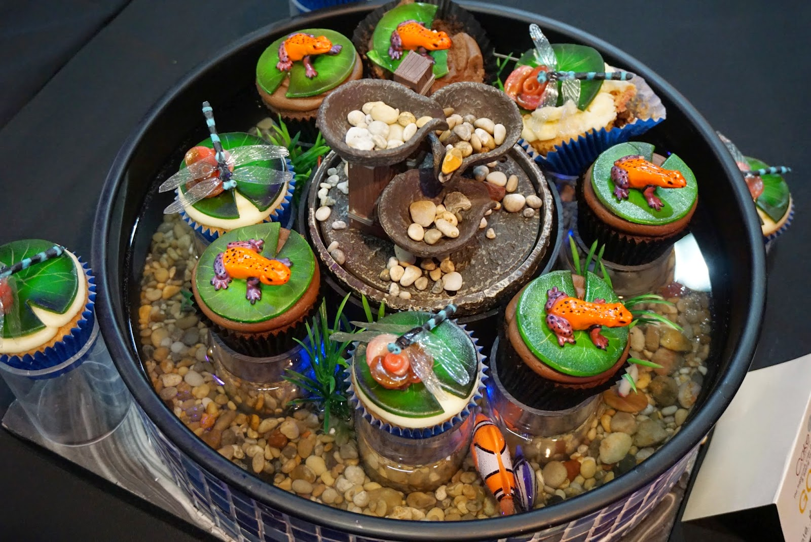 Cake International Show Manchester 2015 Pond Cupcakes