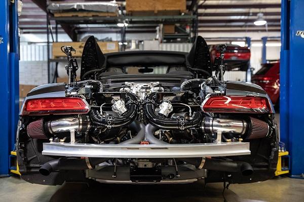 Audi R8 V10 Hennessey