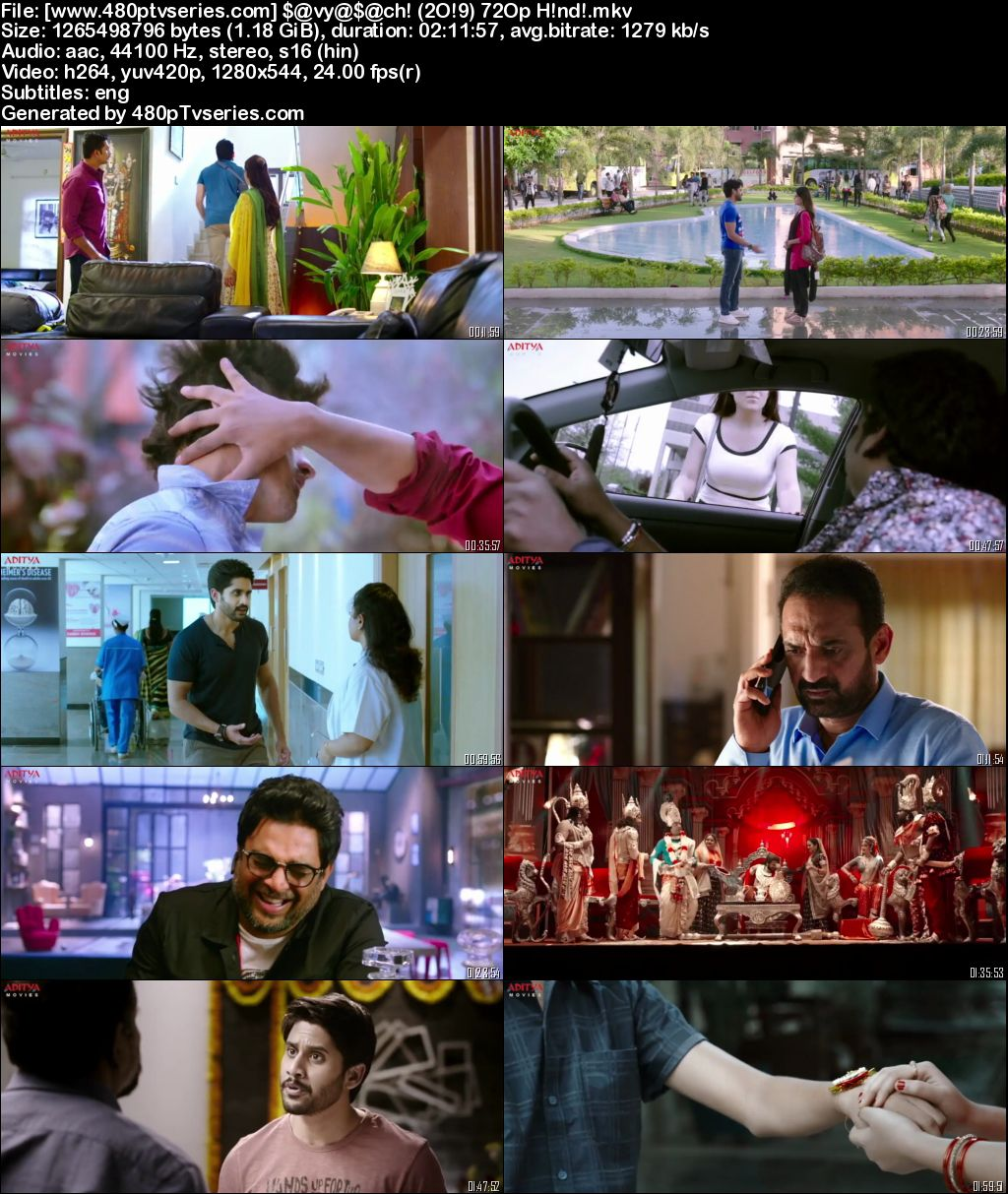 Savyasachi (2019) Full Hindi Dubbed Movie Download 480p 720p HDRip Free Watch Online Full Movie Download Worldfree4u 9xmovies