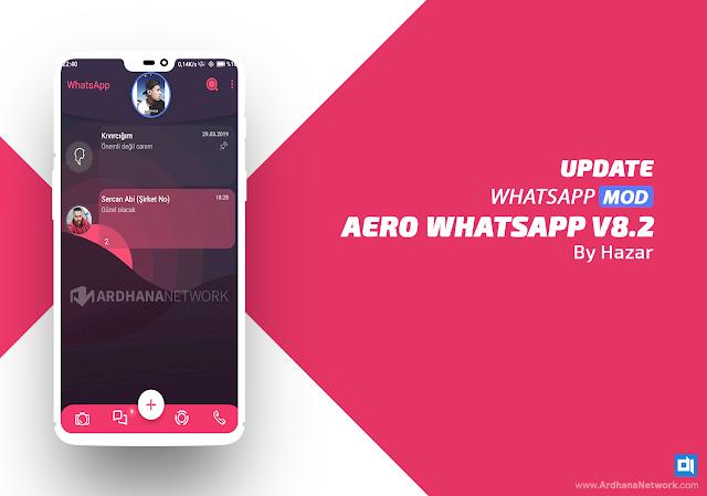 Aero Whatsapp v8.0 by Hazar (UPDATE V8.2)