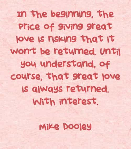 True love quotes and sayings from famous people