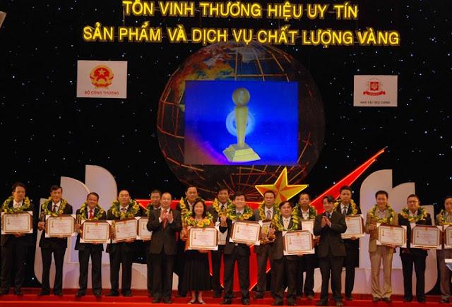 Viglacera Thăng Long nhận cúp vàng
