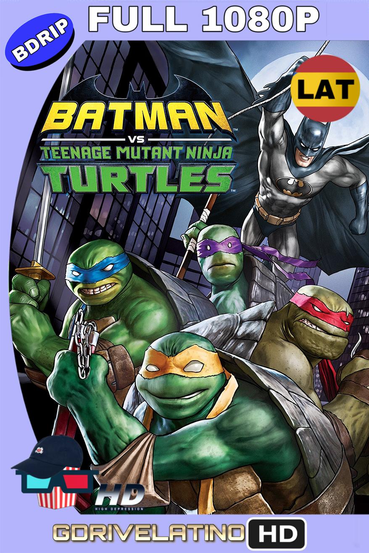 Batman contra Las Tortugas Ninja (2019) BDrip FULL 1080p (Latino-Inglés) MKV